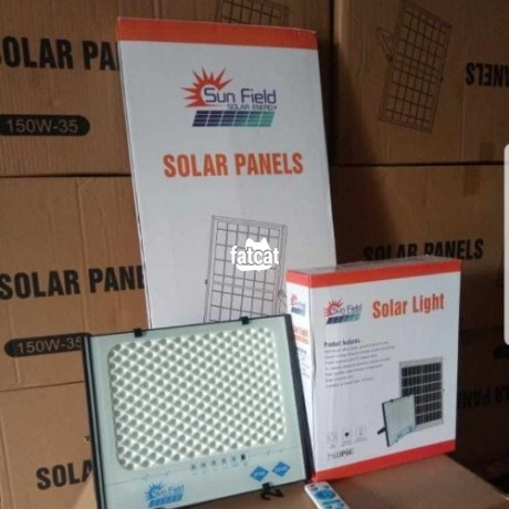 Classified Ads In Nigeria, Best Post Free Ads - 200w-solar-flood-light-big-0