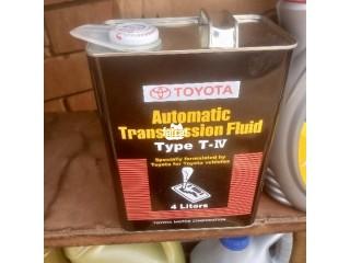 4 Liters Original Toyota Automatic Transmission Fluid