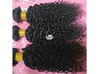 Virgin hair 100% human hair
