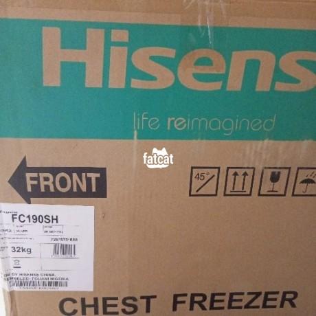 Classified Ads In Nigeria, Best Post Free Ads - new-hisense-fc190-chest-freezer-190l-fast-cooling-big-0