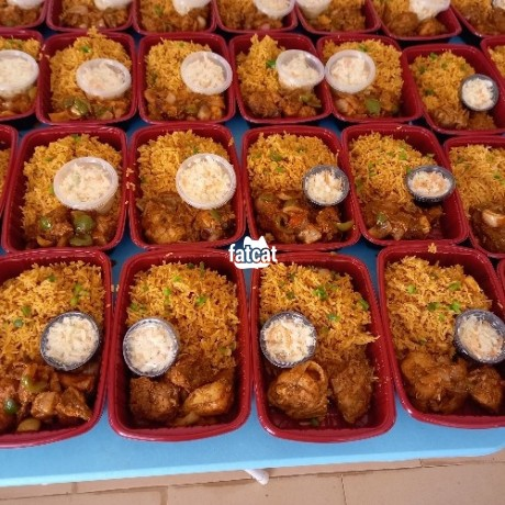 Classified Ads In Nigeria, Best Post Free Ads - delicious-jollof-rice-with-chicken-and-salad-big-0
