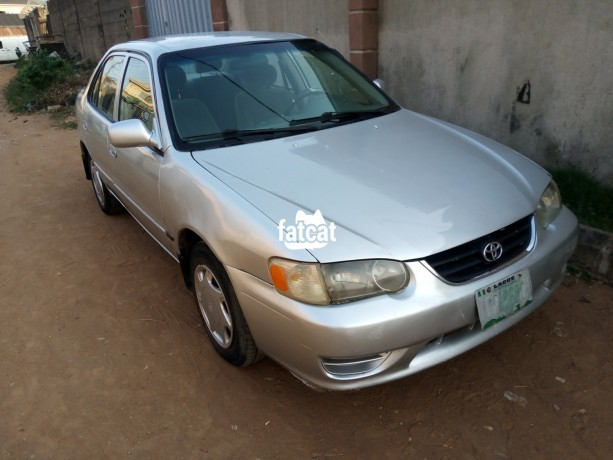 Classified Ads In Nigeria, Best Post Free Ads - used-toyota-corolla-2001-in-ikeja-lagos-for-sale-big-3