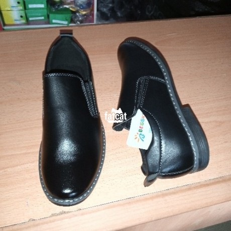 Classified Ads In Nigeria, Best Post Free Ads - quality-kids-corporate-black-shoe-with-a-very-strong-soul-big-0