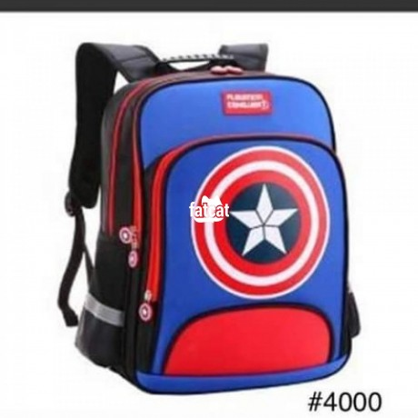 Classified Ads In Nigeria, Best Post Free Ads - navy-blue-captain-america-bag-big-0