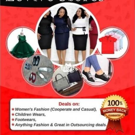 Classified Ads In Nigeria, Best Post Free Ads - stretchy-white-office-peplum-dress-big-1