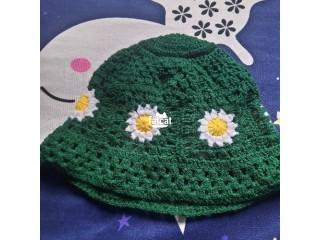Beautiful Handmade Crochet Hat for Girls