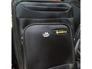 Black Leader Polo Travel Bag