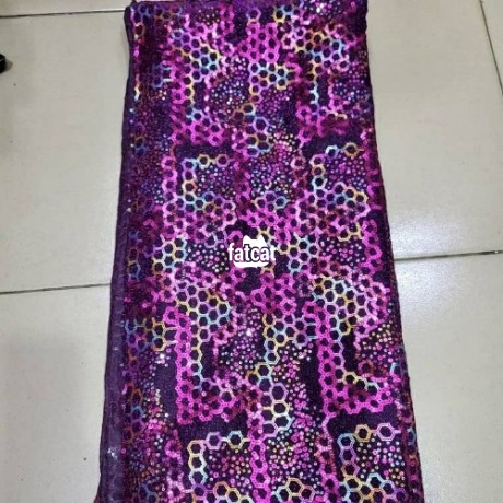 Classified Ads In Nigeria, Best Post Free Ads - quality-5-yards-net-sequence-laces-big-0