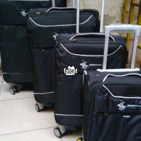 Classified Ads In Nigeria, Best Post Free Ads - swiss-polo-5-set-of-trolley-luggage-bag-big-1