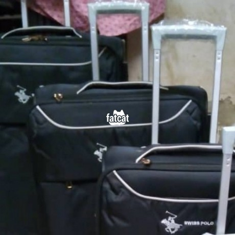 Classified Ads In Nigeria, Best Post Free Ads - swiss-polo-5-set-of-trolley-luggage-bag-big-2