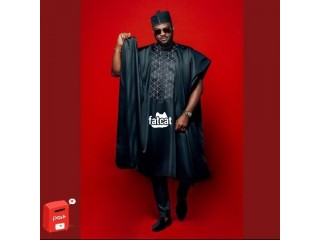 Fashion Oracle Men's Traditional Agbada 3 Piece Outfits