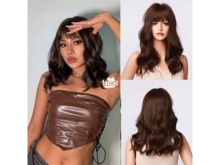 Blunt Cut Body Wave Human Hair Wig