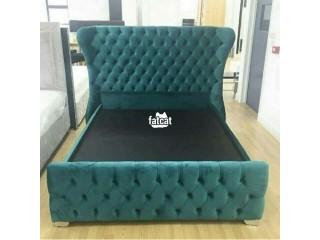 Padded Bed Frame in Mararaba, Abuja for Sale