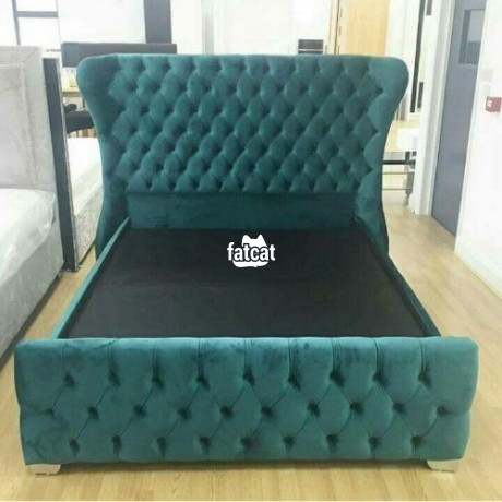 Classified Ads In Nigeria, Best Post Free Ads - padded-bed-frame-in-mararaba-abuja-for-sale-big-0