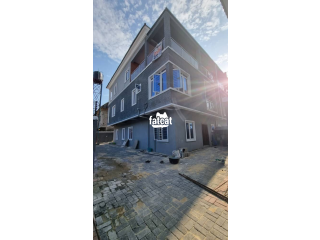 Brand New Massive 5 Bedrooms Semi-detached Duplex for Rent on Orchid Road by Lekki Second Toll Gate