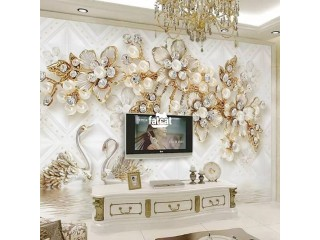 Wall Photo Murals and 3D Panels