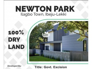 Land With Governorment Approved Excision Available At Newton Park Estate for Sale