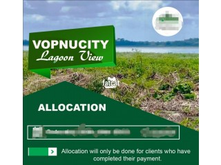 Land With Proposed Excision Available At Lagoon View Estate Orogbe Town for Sale