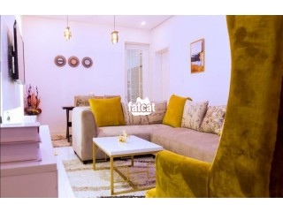 Lovely 2 Bedrooms Short let  Apartment is Available For Bookings From Today Location is Oniru VI, Lagos Nigeria