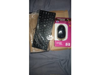 Wired Keyboard And Mouse Set in  Ibadan, Oyo for Sale