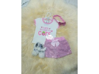 Baby Girl 3 Pieces Set in Ikeja, Lagos for Sale