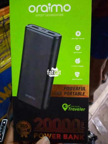 Classified Ads In Nigeria, Best Post Free Ads - oraimo-power-bank-big-0