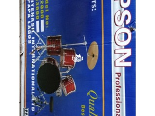 Professional 5 pieces Drum Set in Abuja, FCT for Sale