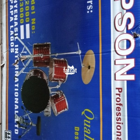 Classified Ads In Nigeria, Best Post Free Ads - professional-5-pieces-drum-set-in-abuja-for-sale-big-0