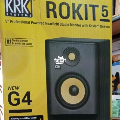 Classified Ads In Nigeria, Best Post Free Ads - rokit-5-studio-monitor-in-abuja-for-sale-big-0