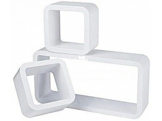 Rectangular-Shaped Floating Shelves (3 piece-set) in Abuja, FCT for Sale