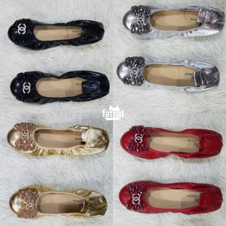 Classified Ads In Nigeria, Best Post Free Ads - ladies-flat-shoes-in-ojo-lagos-for-sale-big-0