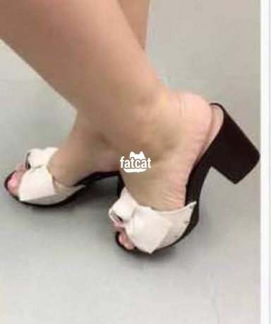 Classified Ads In Nigeria, Best Post Free Ads - ladies-block-heel-nude-slippers-in-ojo-lagos-state-for-sale-big-0