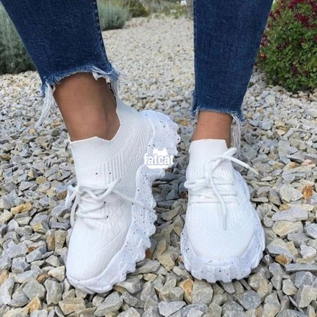 Classified Ads In Nigeria, Best Post Free Ads - chunky-white-sneakers-for-women-in-abuja-for-sale-big-0