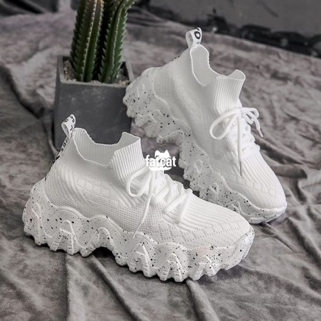 Classified Ads In Nigeria, Best Post Free Ads - chunky-white-sneakers-for-women-in-abuja-for-sale-big-2
