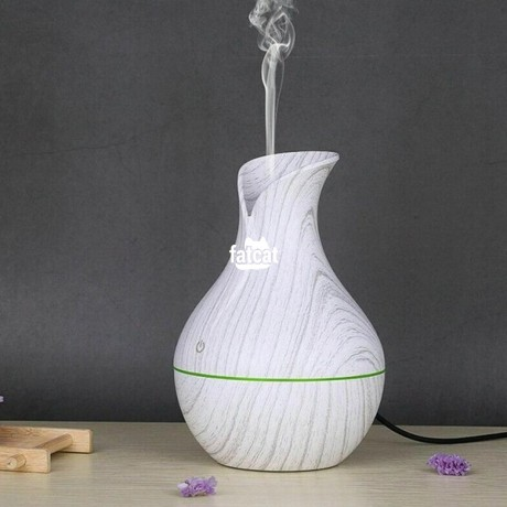 Classified Ads In Nigeria, Best Post Free Ads - ultrasonic-aromatherapy-humidifier-130ml-white-wood-grain-in-abuja-fct-for-sale-big-2