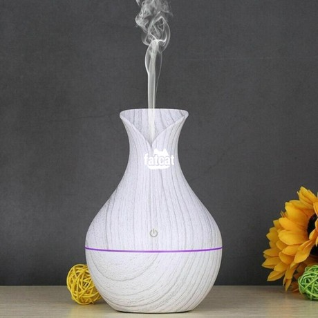 Classified Ads In Nigeria, Best Post Free Ads - ultrasonic-aromatherapy-humidifier-130ml-white-wood-grain-in-abuja-fct-for-sale-big-1
